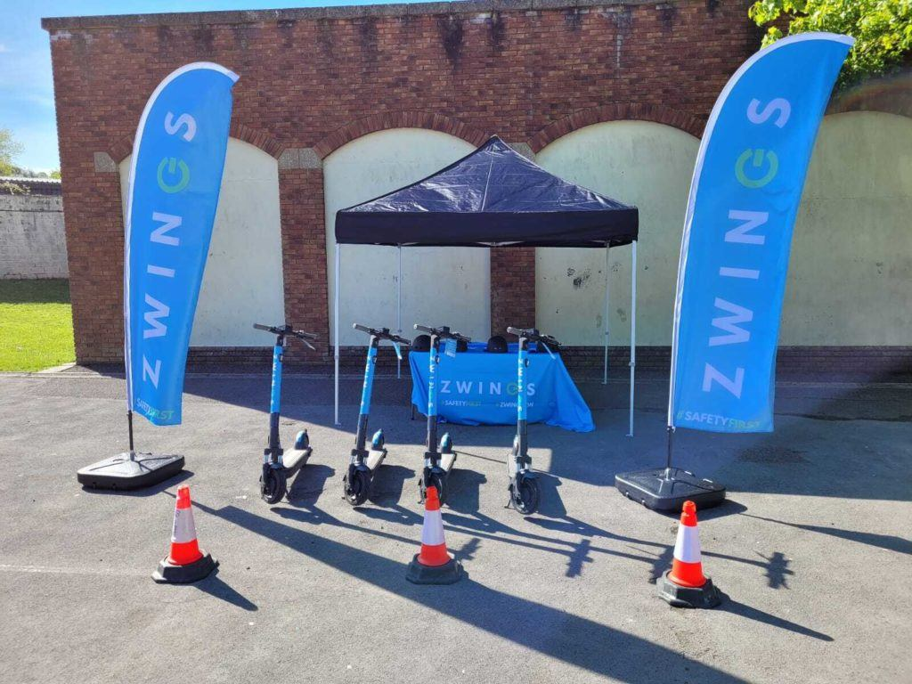 Zwings' #SAFETYFIRST Demo Workshops: creating a culture of responsible e-scooting